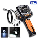 3.5'' LCD LED 8.2mm Camera Inspection Borescope (1m)