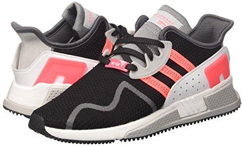 Adidas Originals Uomo Adidas Eqt Cuscino Maglia Nera Scarpe Da Tennis Superiori Blk / Gr / W