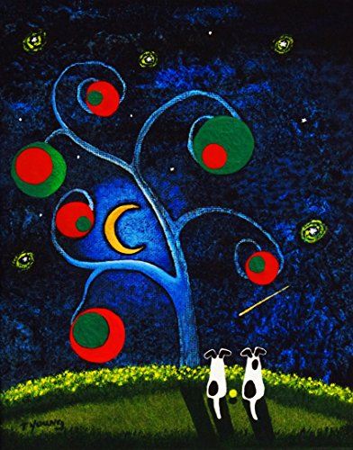og Folk art PRINT by Todd Young OLIVE TREE ()