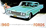 img - for FOR OWNERS & RESTORERS 1960 FORD DEALERSHIP SALES BROCHURE - Includes Custom Series, Custom 300 & Fairlaine Series, Fairlane 500, Galaxie, Falcon, Thunderbird, Wagons, Convertible book / textbook / text book