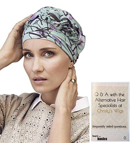a288c8ed026 Bundle - 2 Items  The Azure Printed Turban by Christine Headwear (Item  1