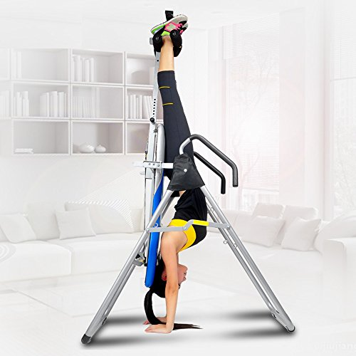(ZENOVA Inversion Table,Strength Training Back Support,Back Therapy,with Height Adjustment System, Gravity Table,for Pain Relief)