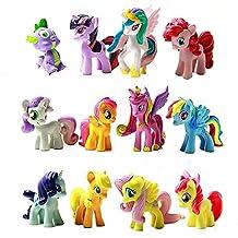 FTW Toys 12pcs/lot My Little Pony Toys PVC Figures