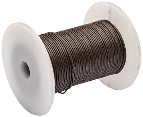 Beads Unlimited 1 mm Superior Leather Thong, Pack of 50 m, Brown LTN14-50