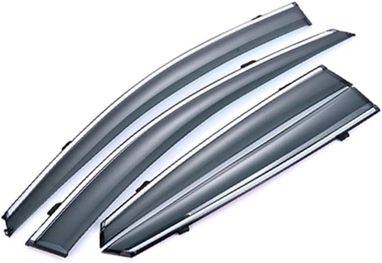 saitake Windabweiser F/ür Honda Accord 2003-2007 4PCS Autofenster Visier Sonne Regen Rauchabzug Schatten Klebeband Au/ßenvisiere