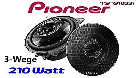 Porti/ère avant de Fiat Punto Pioneer 240 haut-Parleurs de voiture