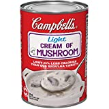 Campbell's Light Cream Of Mushroom Soup, 540ml