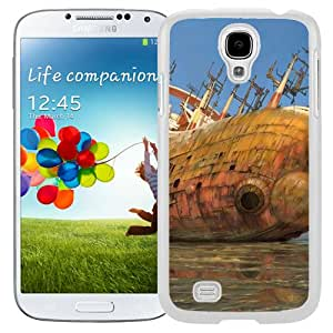 Beautiful And Unique Designed With Sea Stranding Ship Old Debris Reflection (2) For Samsung Galaxy S4 I9500 i337 M919 i545 r970 l720 Phone Case