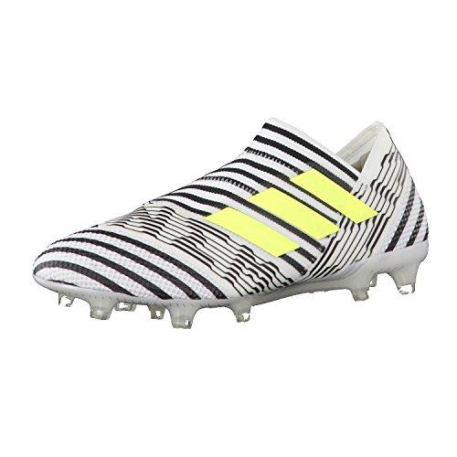 adidas Nemeziz 17+ 360agility Fg, Zapatillas de Deporte para Hombre Blanco ((Ftwbla/Amasol/Negbas))
