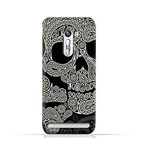 AMC Design Asus Zenfone 2 Laser ZE550KL TPU Silicone Protective Case with Skull & Piesley Design