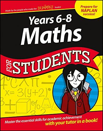 Years 6-8 Maths for Students (1st 2015) [Kemp, Zegarelli & Beveridge]