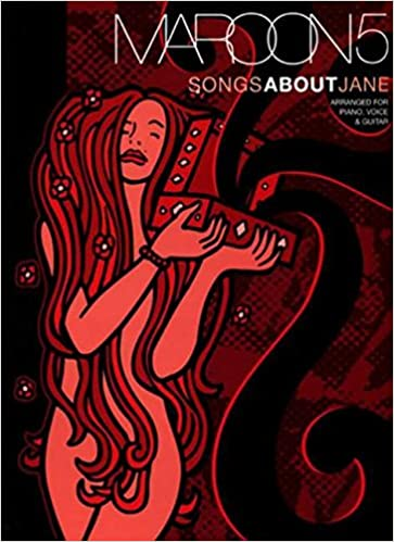 Amazon Maroon 5 Songs About Jane Pvg Piano Voice Guitar