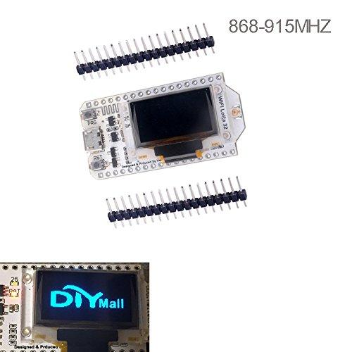 WIshioT Lora Module 868MHz-915MHz 0.96 OLED Display ESP32 ESP-32S WIFI Bluetooth Development Board Antenna Transceiver SX1276 IOT for Arduino Smart Home by WIshioT (Image #1)