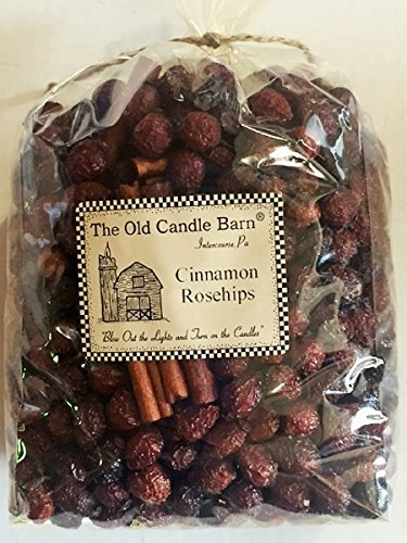 Cinnamon Rosehips Large Bag - Well Scented Potpourri - Made In USA by Old Candle Barn