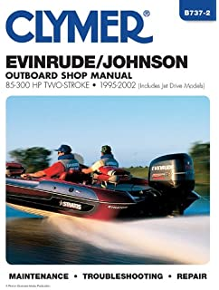 evinrude/johnson 85-300 hp two-stroke 1995-2002 (clymer marine