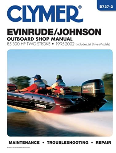 clymer evinrude johnson 2 stroke outboard shop manual 85 300 1995 rh amazon com Johnson Outboard Motor Year Identification Johnson Outboard Parts Diagram