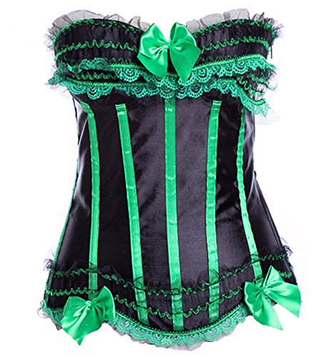 Yall Apretar El Chaleco Ropa Interior Formando Vestido De Novia Ropa Interior Green