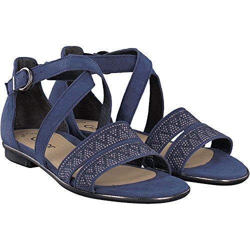 De Sandales Des Bleu Femmes Mode De Gabor Sandales Bleu YPEHPr