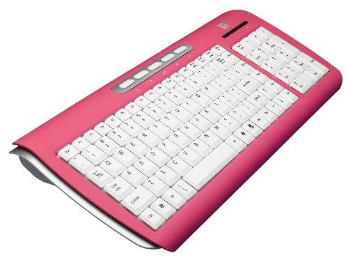 - Case Logic 2.4GHz Wireless Keyboard (Pink/White) (KWD-101)