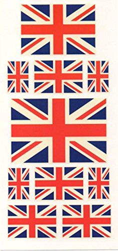 Union Jack British Flag tattoo tattoo seal sticker by enterhouse select