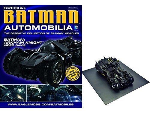 Eaglemoss Publications DC Batman AUTOMOBILIA Figurine Collection Magazine Special Arkham Knight Batmobile