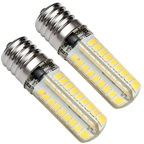 Kakanuo E17 LED Bulb Microwave Oven Light Dimmable 5 Watt Warm White 3000K 72X2835SMD AC110-130V (Pack of 2)) (Appliance Bulb Led T8 compare prices)