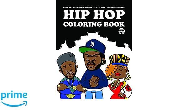 HIP HOP COLORING BOOK: Mark 563: 9789185639830: Books - Amazon.ca