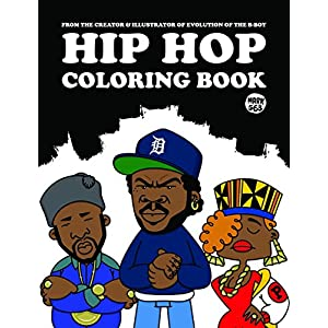 HIP HOP COLORING BOOK 6