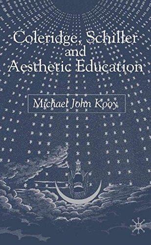 Coleridge, Schiller and Aesthetic Education by Michael John Kooy