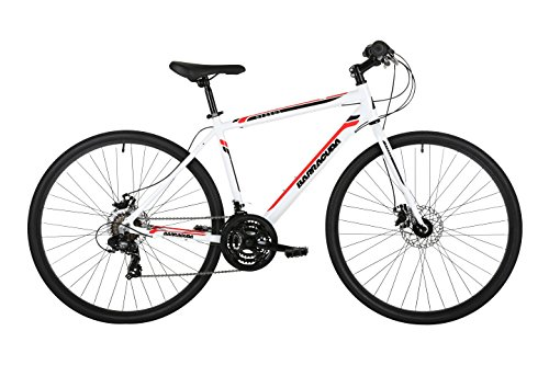 Barracuda Hydrus Men's Hybrid Bike White (21')