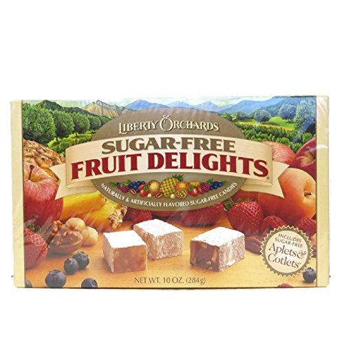 Liberty Orchards Sugar Free Fruit Delights 10 oz Box