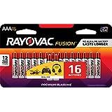 RAYOVAC AAA 16-Pack FUSION Advanced Alkaline Batteries, 824-16LTFUSJ