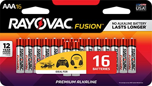 RAYOVAC Advanced Alkaline Batteries 824 16LTFUSJ