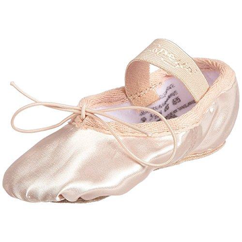 Capezio 215C - Zapatillas de ballet, raso, color rosa rosa - rosa