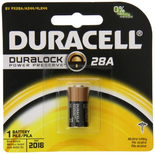 Duracell 28A Medical Battery, (Pack of 6) by Duracell