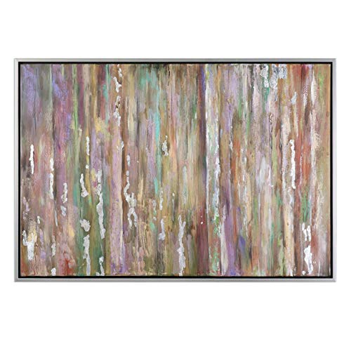 Feyock Grace Collection (Uttermost Silver Choices Abstract Wall Art)