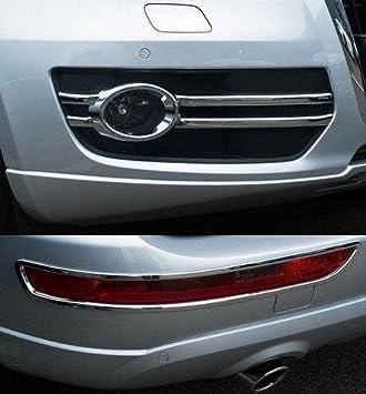 Accesorios para Audi Q5 cromo antiniebla paneles reflectores Marco: Amazon.es: Coche y moto