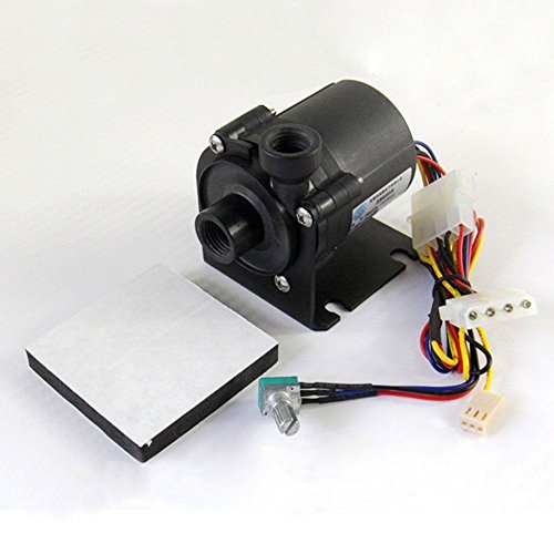 Glowry® DC 12V G1/4 SPEED CONTROL PUMP BRUSHLESS MOTOR FOR COMPUTER PC WATER COOLING SYSTEM COOLER by Glowry