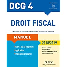 DCG 4 - Droit fiscal 2018/2019 - Manuel (French Edition)