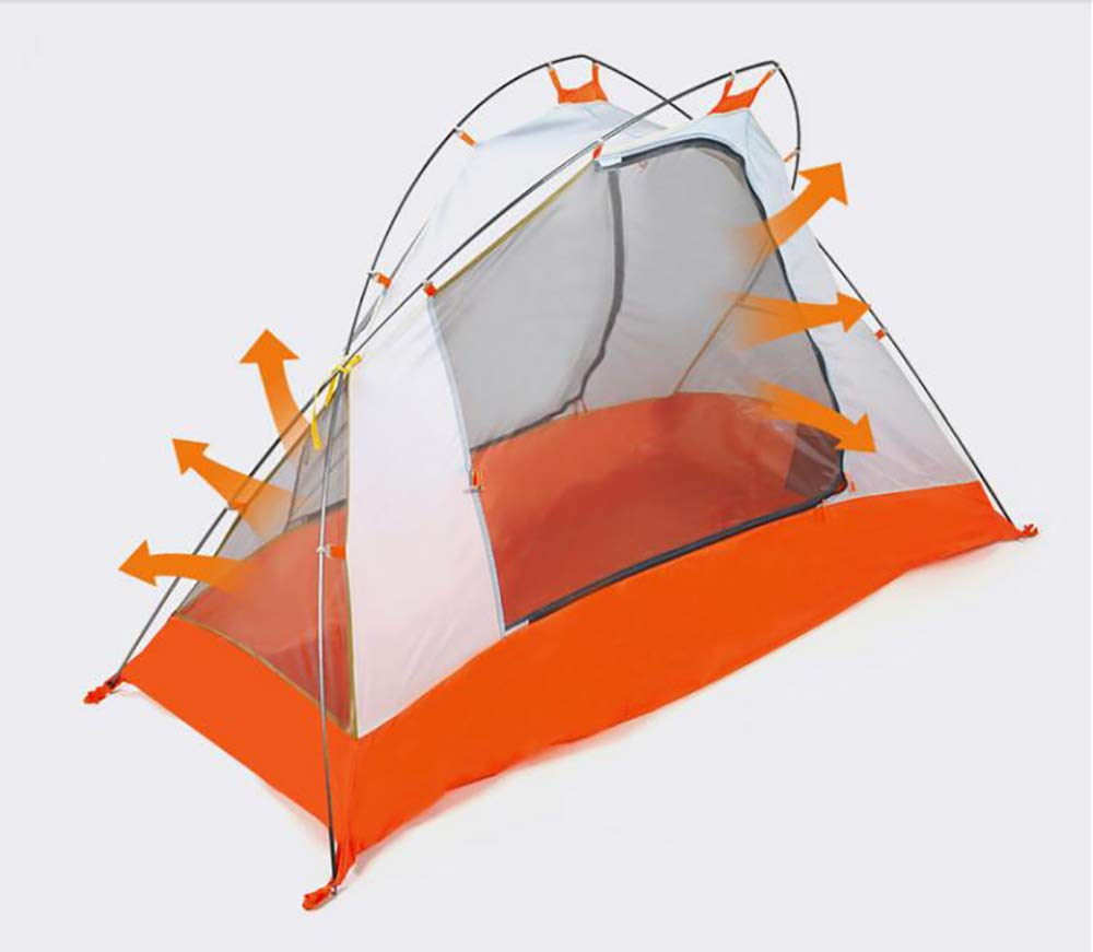 Hewolf Dome Lightweight Camping Tent – Waterproof Backpacking Tent with Full Rain Fly for Hiking,Hunting and Adventure