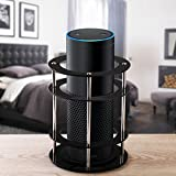 Foxnovo Acrylic Speaker Stand for Wireless Mobile Bluetooth Speaker - Waterproof and Shockproof (Black)