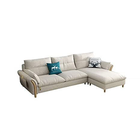 Amazon.com: Henl147 Home Sofa Fabric Sofa Small-Sized ...