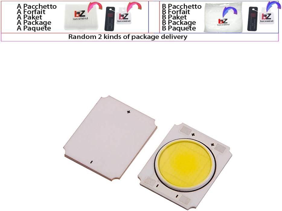 5 UNIDS/LOTE LED Módulo de COB de Cerámica 10W 24V White5000K 5500K 6000K Diodo Para Focos de Techo Downlight Bombilla,White5000-6000k
