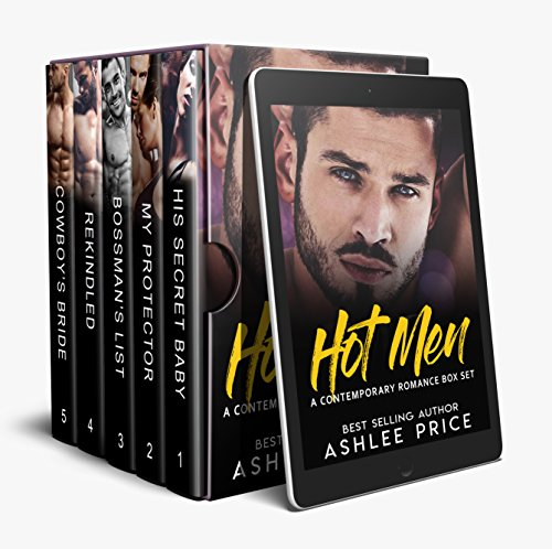 HOT MEN: A Contemporary Romance Box Set