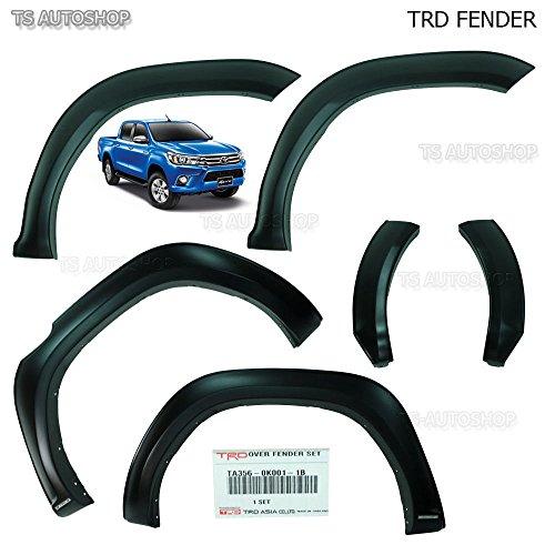TRD Genuine Parts OEM Matte Black Fender Flears Arches For