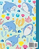 Composition Notebook: Baby Shark Fish Animals