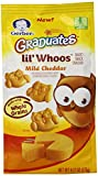 Gerber Graduates Lil Whoos Cracker, Mild Cheddar, 6.17 Ounce