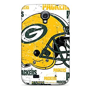 Tvj142pvoC Anti-scratch Case Cover BuyphonecaseJulia Protective Green Bay Packers Case For Galaxy S4