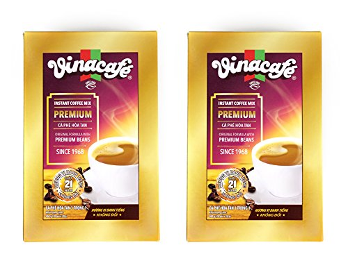 - Vinacafe 3 in 1 Instant Coffee Mix (Premium Gold Arabica and Robusta)