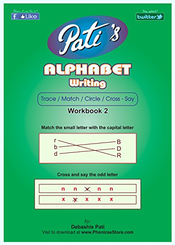 Pati\'s Alphabets writing 2 work book for kids - School bee help ...